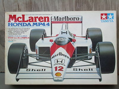 McLAREN HONDA MP4/4-TAMIYA PRECISION DETAILED MODEL-1/20 SCALE