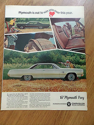 1967 Plymouth Sport Fury Ad