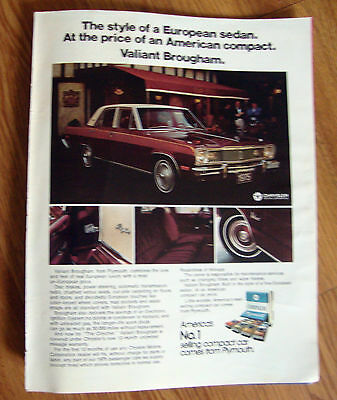 1975 Plymouth Valiant Brougham Ad