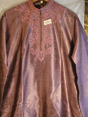 Bn Size 40 Mens Musk Jewelled Bollywood Indian Kurta Suit