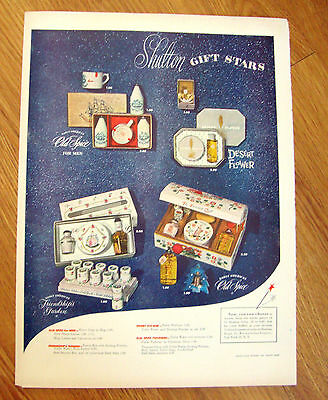 1949 Old Spice Ad  Shulton Gift Starts