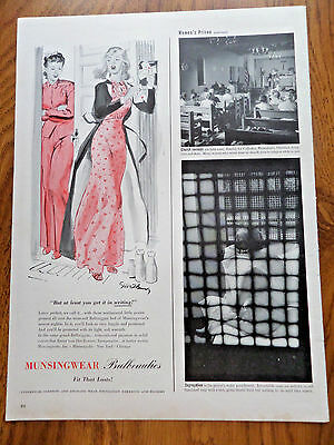 1941 Munsingwear Ad  Nightie  Balbeauties