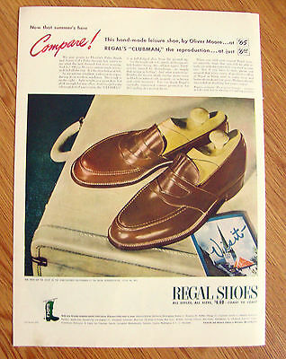 1946 Regal Shoes Ad   Clubman