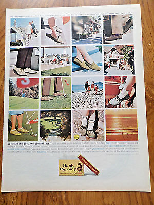 1963 Hush Puppies Shoes Ad