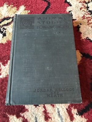 Animal Studies 1903 Kellogg And Heath Antique Biology Textbook