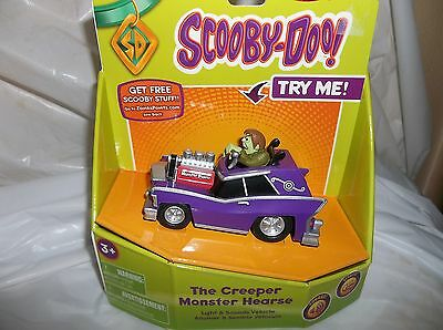 Scooby Doo The Creeper Monster Hearse W/ Light & Sounds Vehicle By Nkok