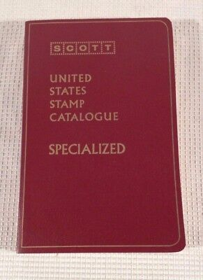 1973 SCOTT Specialized Catalogue of United States Stamps 51st Edition Book