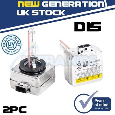 2PCS D1S factory fitted Xenon HID Replacement Bulbs 43000k 6000k 8000k 10K 35W