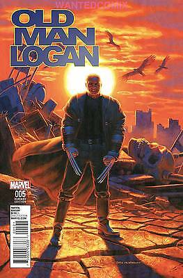 Old Man Logan #5 Hildebrandt Classic Variant Cover Wolverine X-Men Comic Book 1