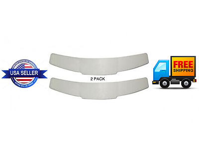 2 PACK - Clergy Tab Clerical Plastic Collar White Replacement Insert for Shirt