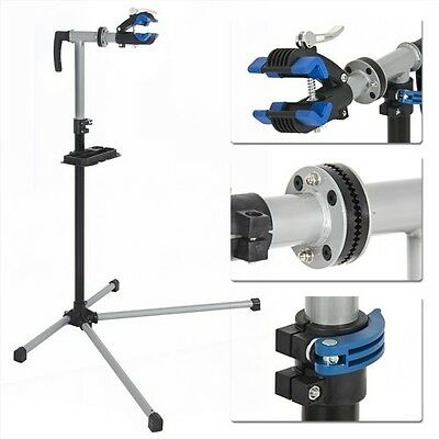 Sports Bike Adjustable Repair Stand with Telescopic Arm Cycle Bicycle Rack