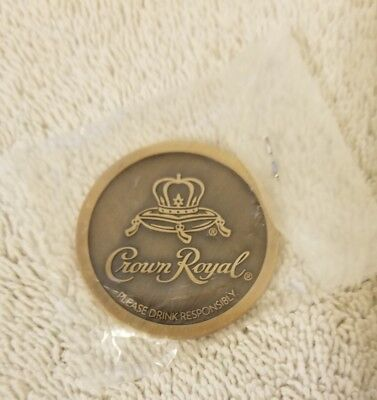 Crown Royal Apple Rare Promotional Brass Coin