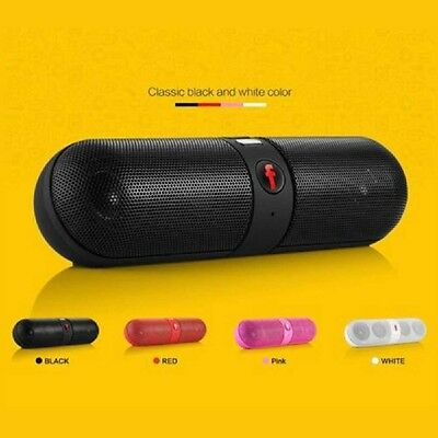Portable Bluetooth Wireless FM Stereo Speaker For SmartPhone Tablet iPhone 2017