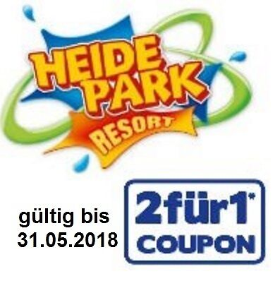 heidepark soltau 2x einzelticketstickets tageskarte. Black Bedroom Furniture Sets. Home Design Ideas