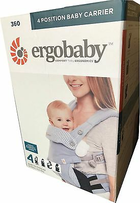 Ergobaby 360 Baby Carrier sling 4 ergo carry Positions: Azure Blue