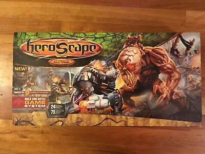 Heroscape Master Set - 2 Swarm of the Marro Brand New In Box. Sealed. OOP