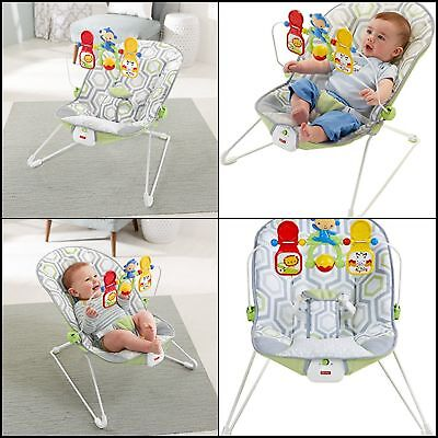 Baby Boys Fisher Price Bouncer Sleeper Rocking Chair Infant Toy Sleeping Cradle