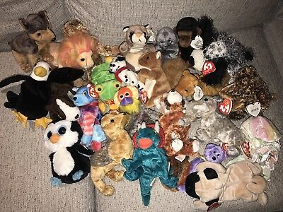 TY || Beanie Babies Collection - All With Tags Attached Some Rare