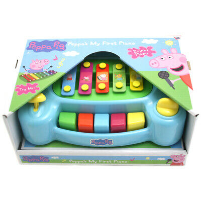 Peppa Pig My First Children's Toy Piano, COLOUR VARIES, ONE SUPPLIED, NEW
