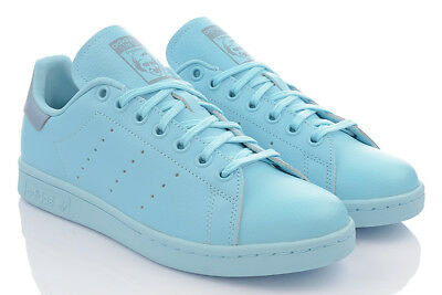 ADIDAS Stan Smith J Donna Madchen Exclusive Sneaker Pelle Originals NUOVO MODEL