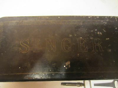 Vintage Singer Sewing Parts in box