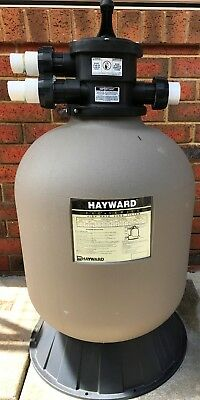 Hayward 21 in. Pro Series Sand Filter AND Top Mount Multiport Valve