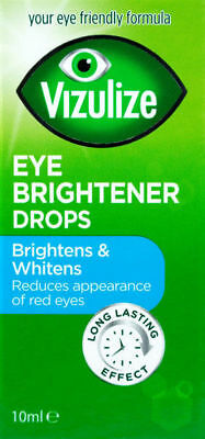 Vizulize Eye Brightener Drops 10ml - For Brighter & Whiter Eyes