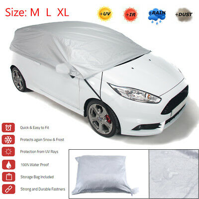 M / L / XL Size Car Cover Waterproof Sun UV Snow Dust Rain Resistant Protection