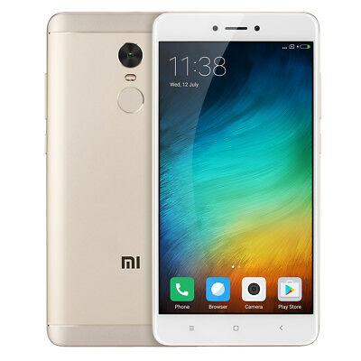 5.5''Xiaomi Redmi Note 4X 4G DecaCore 4+64GB MIUI8 13MP 4100mAh Helio X20 Global