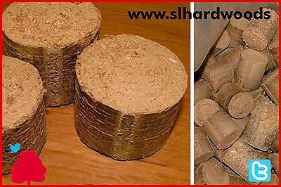 SALE Wood Briquettes Ideal for Stoves / Ovens 1 sack 16kg each Cheapest Around