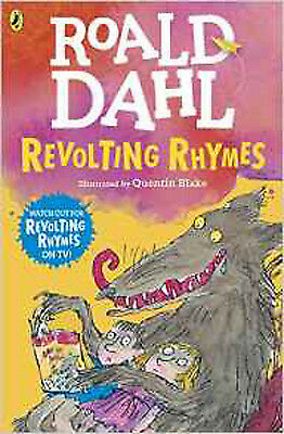 Revolting Rhymes, New, Dahl, Roald Book