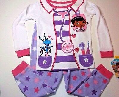 New Doc Mcstuffins toddler girls pajamas 2T 3T 4T 5T  Doc Mcstuffins pajamas