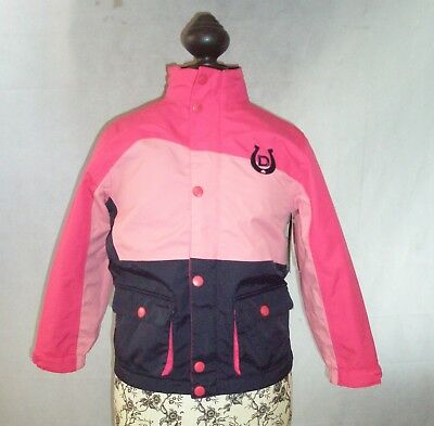 Dublin Child's Riding Jacket In Pink Or Blue Size Small