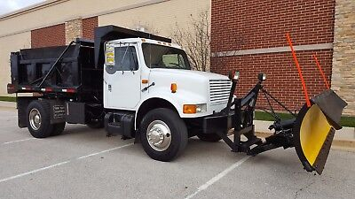 92 International 4900 dump truck auto dt466 100k miles 9 yard