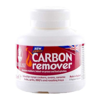 Tableau Carbon Remover 250ml Effective Oven Grill BBQ Baked On Grease Cleaner