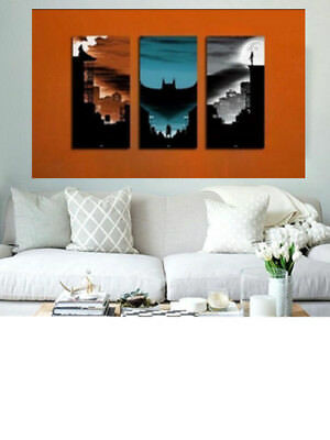 Oil Painting HD Print On Canvas Wall Decor Art The Batman No Frame 3p NO