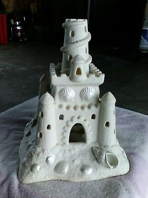 Sea shell Sand Castle Party Light Candle Holder