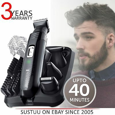 Remington PG6130│Men's Hair│4 in 1│Cordless│Shaving│Trimmer│Clipper│Grooming Kit