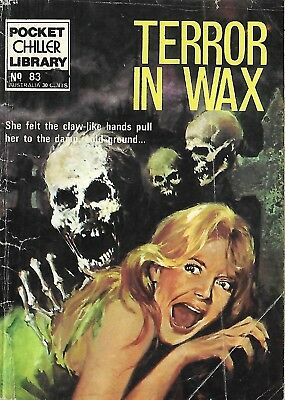 Pocket Chiller Library 83 Terror In Wax