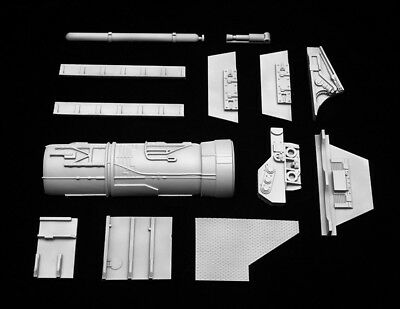 Plant-On Wing Parts  for 1/18 Star Wars X-Wing Hasbro Hero Rebels Conversion