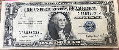 1935 G Silver Certificate $1 ~ Worn No Tares **LOW FIXED PRICE!!**