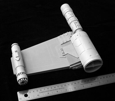 Aluminum, ABS and SLA Wing Assembly for 1/18 X-Wing Hasbro Hero Conversion