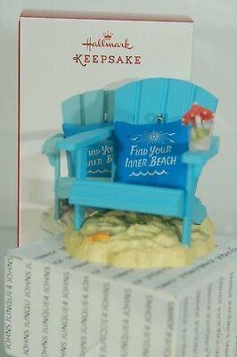A Day At The Beach Hallmark Ornament 2017 New Ships Out Now! Free Ship In Us