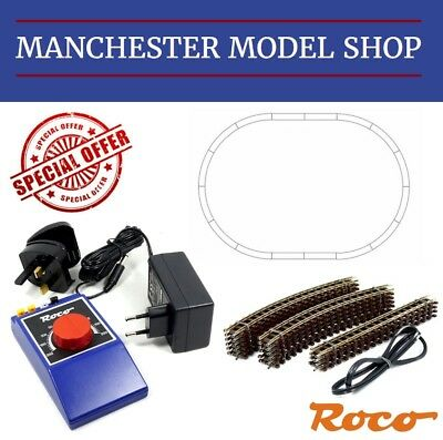 SPECIAL OFFER Roco 009 / HOe narrow gauge oval & DC Control NEW - SRP £102.40