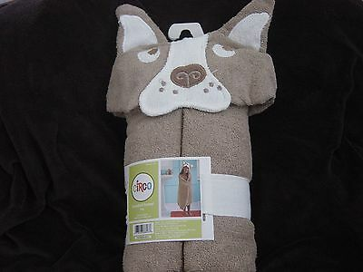 CIRCO Terry Hooded Towel Puppy Dog New NWT