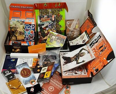 Large Job Lot Brand New Loot Crate Collectables. 4 Boxes. Game Thrones, H Potter