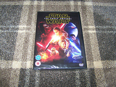 Star Wars: The Force Awakens DVD, Brand New & Sealed