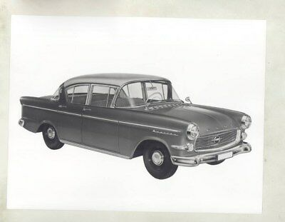 1956 ? Opel Kapitan ORIGINAL Factory Photograph wy5358