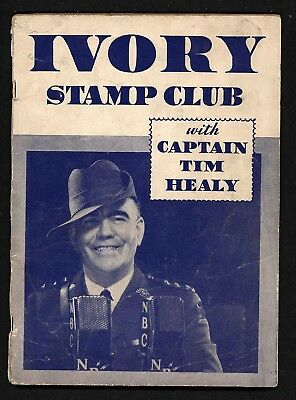 Captain Tim Healy Ivory Soap Stamp Album 1934, Nice Condition