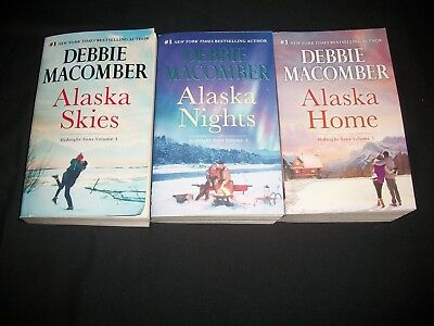 Lot of 3 Books Debbie Macomber, Midnight Sons Series